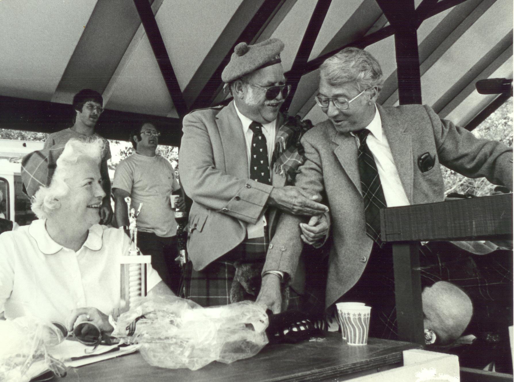 Clyde Mclean, Bobby Groves, Cornelia Groves