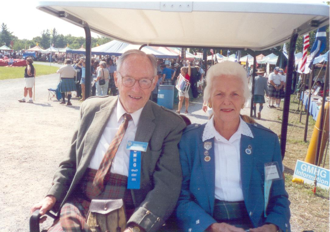 Dick Gammon and Cornelia Groves 2001