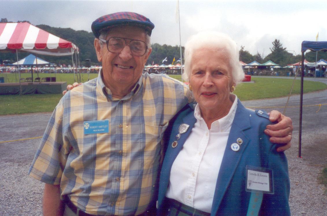 Robert Hartley and Cornelia Groves 2001