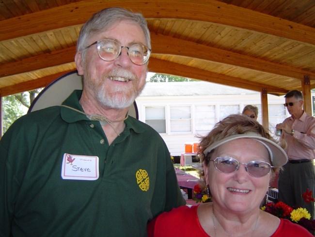 Pat and Steve Johnston